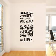 Small Picture Handwritten In This House Vinyl Wall Sticker Urban Walls