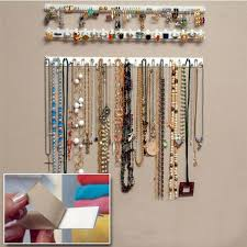 wall jewelry storage. Plain Storage New Desigh 9 In 1 Adhesive Paste Wall Hanging Storage Hooks Jewelry Display  Organizer Necklace Hangerin Packaging U0026 From  Inside S