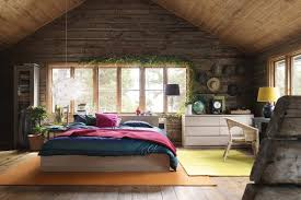 Good Crazy Bedroom Designs That You Must Try With Ingenuity: Impressive Attic  Bedroom With Rustic Wall