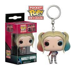 Key Chain: Suicide Squad - <b>Harley Quinn</b> Pocket <b>POP Vinyl</b> (Key ...