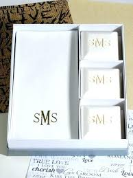 monogram wedding gifts ideas wedding gift ideas personalized scented pillow guest soap hand towel set monogrammed