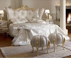 luxury modern italian style hotel bed
