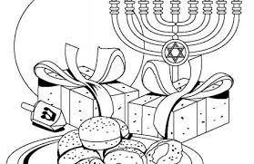 Chanukah Coloring Pages Just Colorings