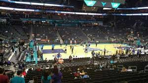 Spectrum Center Section 106 Row S Home Of Charlotte