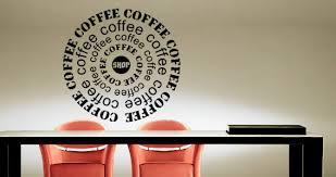 Coffee Shop Wall Art Shop Vinyl Cheap Stickers Wonderful Unique Handmade  Contemporary Chair Seating Wonderful Amusing ...