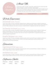 100 Free Resume Templates Beauteous The Best Resume Ever From 28 Free Resume Templates For Word