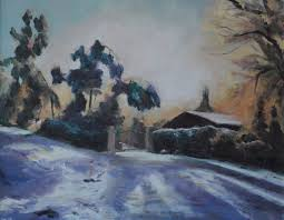 travel far and my landscapes have been mainly local fortunately we live in a beautiful area of the country and there is much well worth painting close