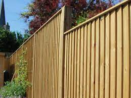 installing fencing on a slope
