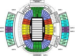 Cheap Bills Tickets See The Ralph Wilson Seating Chart
