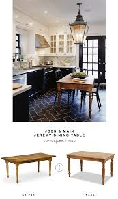 joss and main dining tables. Vermont Farm Table Reclaimed Piedmont For $3,288 Vs Overstock Artefama Linda Distressed Dining Joss And Main Tables