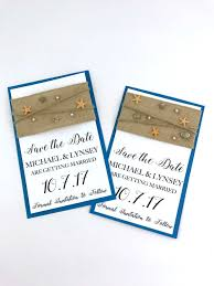 How To Make A Save The Date Card Diy Beach Theme Save The Date Cards Moscatomom Com