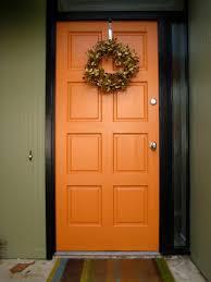 modern front door orange. Orange Front Door Modern-exterior Modern M