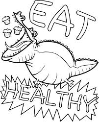 Small Picture FREE Health Nutrition Coloring Pages for Kids Printable