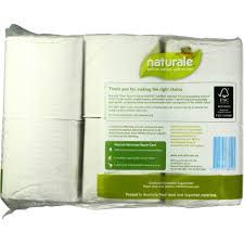 Naturale 100% Recycled Toilet Tissue 2ply White Soft \u0026 Strong 12pk ...