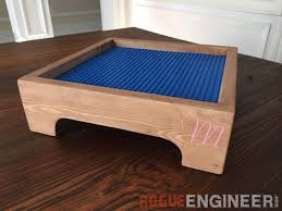 diy lego tray in this house we love lego s last we made my son one really awesome lego table it is by far one of the most used gifts