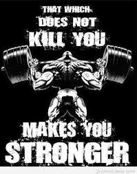 strong comic bodybuilding quote wallpaper