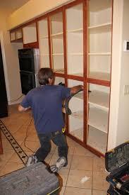 garage door refacingCabinet Refacing Before and After