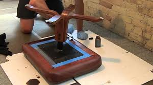 re dyeing your leather furniture youtube