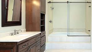 curved bath doors south and sterling bathtub glass shower trackless tub due enclosures cardinal halo door curved bathroom doors glass