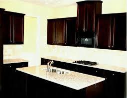 warm the kitchen with dark cabinets light countertops modern backsplash ideas brown white design pictures black