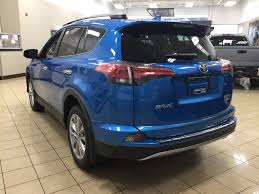 New 2018 Toyota RAV4 Limited Hybrid 4 Door Sport Utility in ...