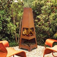 large chiminea outdoor fireplace outdoor rust backyard fireplace garden heater large clay chiminea outdoor fireplace