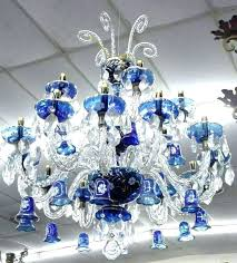 glass chandelier crystals cobalt blue chandelier cobalt blue chandelier antique bohemian glass and crystal cobalt blue