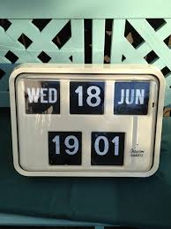 digital office wall clocks. interesting wall vintage retro grayson bank post office digital wall flip clock in cream  colour  i want this product design pinterest clock clocks and on d