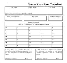 Job Timesheet Template Excel Employee Consultant Templates