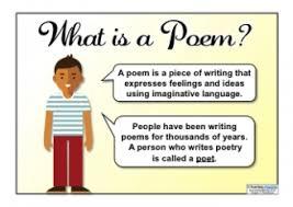 Writing Poetry Teaching Ideas