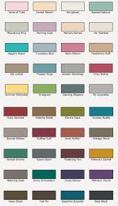 Valspar Colour Chart How Does Valspar Chalk Paint Compare To Annie Sloan Chalk