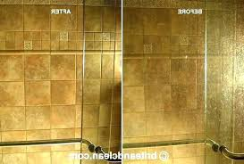 how to clean glass shower doors with hard water stains r spots off on remove best