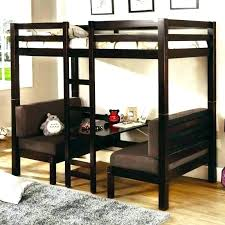 twin loft bed with futon plans bunk double desk interior extra futo