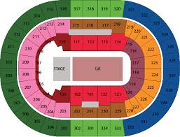Moda Center Seating Chart Bruno Mars Tickets In Portland On 7 23 Moda Center At The
