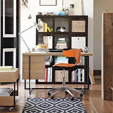 stylish home office desks. Brilliant Office Wood And Metal Desk Intended Stylish Home Office Desks A