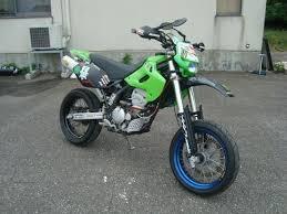 motor kawasaki d tracker 250cc