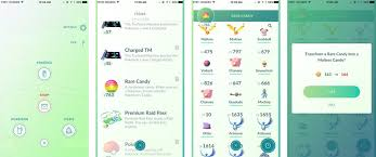 Candy Chart Pokemon Go