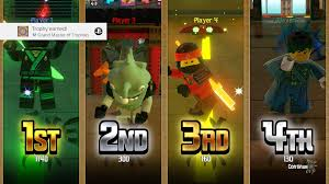 The LEGO NINJAGO Movie Video Game] #19 Nice Lego game if you omit the  tedious collectibles side. : Trophies