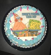 23 Pretty Picture Of Spongebob Birthday Cake Birthday Cake Images