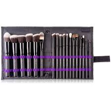 artisan s easel standing brush storage with 18 professional brushes