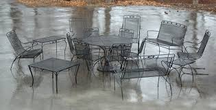 salterini wrought iron furniture. salterini wrought iron patio furniture