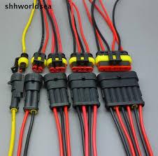 Автомобильный соединитель shhworld Sea, 5 комплектов, <b>1, 2, 3</b> ...