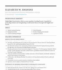 French Teacher Resume Sample Resumes Misc LiveCareer Interesting Resume In French