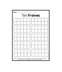 printable frame templates 36 printable ten frame templates free template lab
