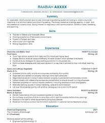 Cv Samples For Engineering Students 208 Chemical Engineers Cv Examples Engineering Cvs Livecareer