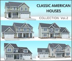 American House Model Design Classic American Houses Collection Vol 2
