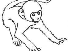 Monkey Coloring Pages Monkey Coloring Pages Free Printable Monkey