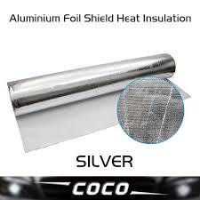 Aluminium Foil Shield Heat Insulation Corrosion resistance Sound ... & Aluminium Foil Shield Heat Insulation Corrosion resistance Sound Absorption  eco quilt heat absorption 100cm*300cm-in Sound & Heat Insulation Cotton  from ... Adamdwight.com