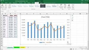 Create Combination Charts