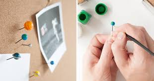 These Micro-<b>Galaxy</b> Push <b>Pins</b> Are Painted And Assembled By Hand